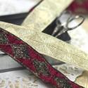 Galon Haute Couture losanges