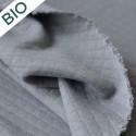 Jersey matelassé Bio gris