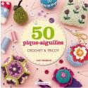 Livre 50 pique-aiguilles crochet & tricot