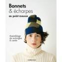 Livre Bonnets et écharpes au point mousse