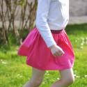 Kit couture Jupette Fauvette rose