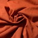 Jersey chanvre et coton Bio rouille