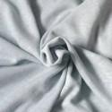Tissu jersey lin et viscose bleu gris