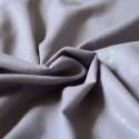 Tissu lin & viscose gris pailleté