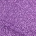 Tissu à poils mauve