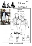 Pinafore dress P407 and the kit