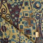 Tissu maille à motifs ethnique pour la couture d'hiver