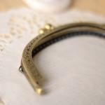 Fermoir sac ou pochette bronze vintage