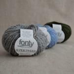 Super Tweed Laine mérinos et mohair