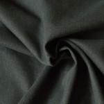 Tissu toile de chanvre et coton bio au mètre noir
