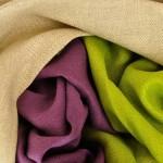 Tissu chevron chanvre et laine de yack 270 g/m2 BIO
