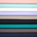 Tissu voile de coton uni pas cher