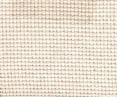 Toile à broder Aïda 5,5 blanche