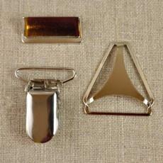 Accessoires haut de gamme pour bretelles 25 mm