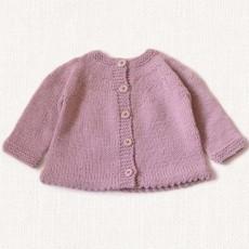 Modèle à tricoter gilet fille facile