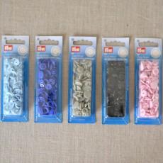 Boutons-pression color snaps ronds 40 coloris