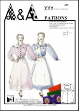 Dress and skirt from the country Provence P209
