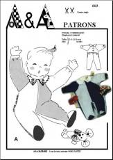 Sleeping-suit, jumpsuit P603