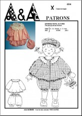 Two-piece jacket and bloomers P604