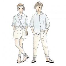 Patron couture enfant chemise Sitelle