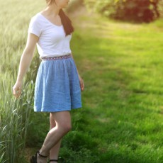 Kit couture jupe fauvette débutant