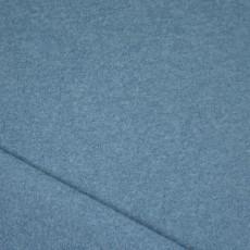 Laine bouillie bleu gris au mètre de luxe pour la couture de manteau