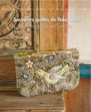 Livre Souvenirs quiltés de Yoko Saito