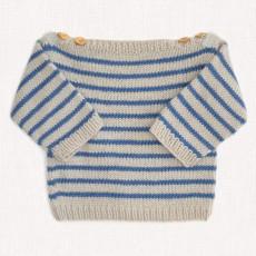 Modèle à tricoter de la marinière Augustin