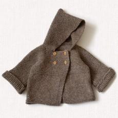 Modèle à tricoter Paletot Jonas en laine Fado de Fonty
