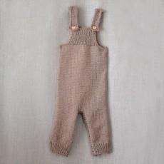 Kit à tricoter de la salopette Ariel pour bébé