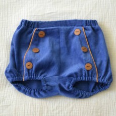 Patron couture bloomer passepoil et bouton