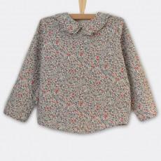 patron couture blouse enfant 3 mois-3 ans Sitelle en voile de coton bio