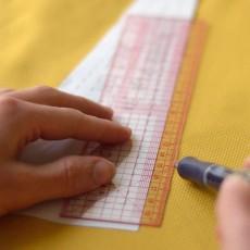 Règle japonaise couture 20 cm