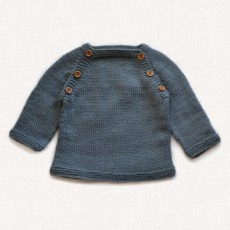 Patron pull bébé tricot BBmérinos Fonty