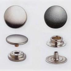 10 Boutons-pression à riveter Sport Mini 13 mm