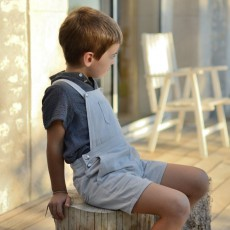 Patron couture salopette enfant ou robe tablier 4-10 ans