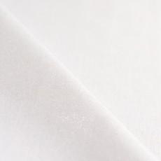 Tissu au mètre tissu pailleté lin et viscose brillant blanc lamé