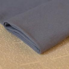 Bord-côte coton bio gris