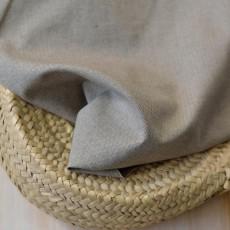 Tissu chevron beige coton Bio
