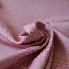 Tissu chevron rouge coton Bio au mètre