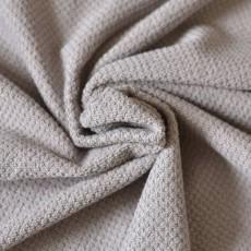 Tissu éponge taupe coton oeko-tex