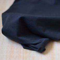 Tissu  jersey Bleu marine coton bio