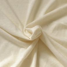 Coupon de 50 cm de jersey chanvre et coton Bio Ecru