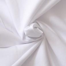 Jersey de coton bio blanc