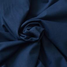 Jersey tissu coton bio bleu foncé