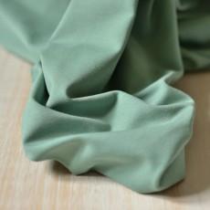 Jersey maille coton bio vert sauge