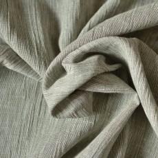 Tissu lin crêpon fil à fil rayé gaufré