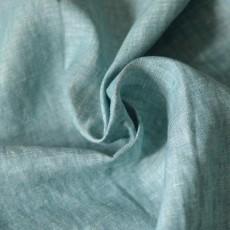Tissu lin vert rustique et naturel à coudre