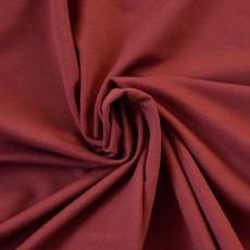 Tissu molleton sweat coton Bio terracotta