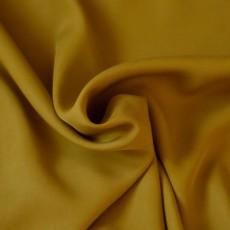 Tissu Tencel jaune moutarde au mètre